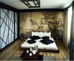 asiatisches schlafzimmer asiatisches schlafzimmer orientalisches design dekotapete bett