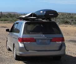 honda odyssey roof rails roof racks and cargo boxes for driving in baja
