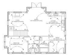 draw floor plan step 7 tegn in elsymboler og belysning bruk