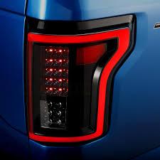 fiber optic tail lights anzo 311261 black fiber optic led tail lights