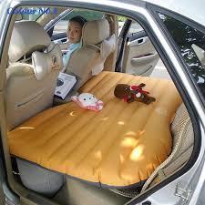 si e auto gonflable siège d auto couverture arrière de voiture air matelas voyage lit