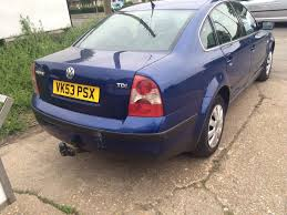 vw passat 2003 1 9 tdi blue in boston lincolnshire gumtree