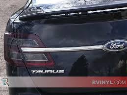 tail light tint installation rtint ford taurus 2013 2016 tail light tint film