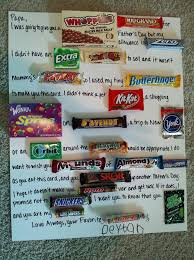 candy s day card s day card made with candy gunna help my girl make