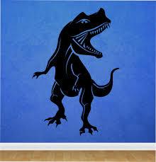 dinosaur wall decal t rex vinyl sticker art decor bedroom design dinosaur wall decal t rex vinyl sticker art decor bedroom design mural interior design animals boys