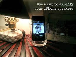 life hack 2 u2013 use a cup to amplify your iphone speakers the diy