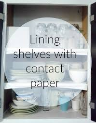 lilly u0027s home designs lining shelves with contact paper