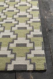 Modern Green Rugs by Green And White Area Rug Roselawnlutheran