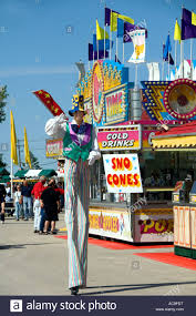 clown stilts for sale clown on stilts at the river exhibition in winnipeg manitoba