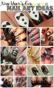 new year u0027s nail art ideas totally the bomb com