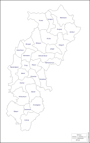 India Political Blank Printable Map by Chhattisgarh Free Map Free Blank Map Free Outline Map Free