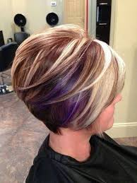 short hairstyles with peekaboo purple layer blonde hair with purple peekaboos peek a boo purple highlights