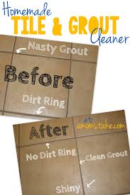 homemade tile and grout cleaner a mom u0027s take