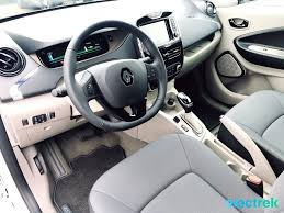 zoe home interior impression the 2017 renault zoe guillotines the