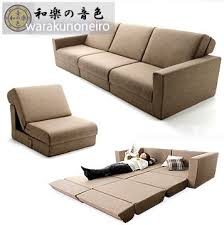 Japanese Sofa Bed Foreign Authentic Japanese Style Large Scale Multi Functional Sofa