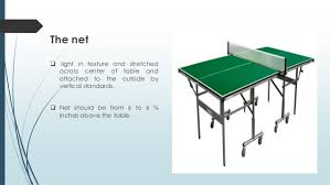 What Are The Dimensions Of A Ping Pong Table by Table Tennis