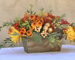 create your own thanksgiving floral centerpiece south coast