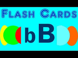 flash cards words starting with the letter b youtube
