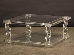 square lucite coffee table contemporary lucite coffee table vintage fence ideas
