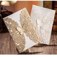 wholesale laser cut baby shower invitations buy cheap laser cut