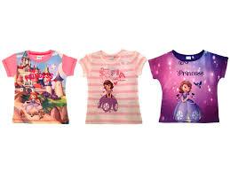 girls disney princess sofia summer tops shirts size uk