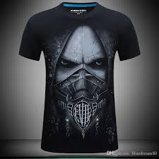 designer t shirt summer mens t shirts 3d skeleton designer t shirt print plus