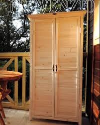 armadi in legno per esterni armadio ripostiglio da esterno in legno mattsole