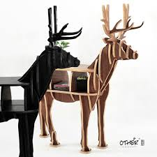 free shipping deer table european diy arts crafts home decoration