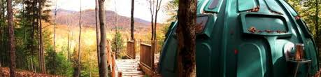 Treehouse Camping Quebec - out of the ordinary accommodations eastern townships quebec