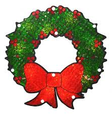 lighted christmas wreaths for windows christmas decorations tagged window decorations northlight
