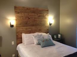 diy wood plank headboard crafthubs messy im just busy cabin