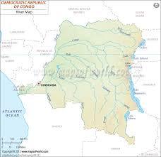 world rivers map shapefile democratic republic of congo river map zaire
