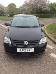 vw fox polo 1 2 2010 in black cheap car in bournemouth dorset