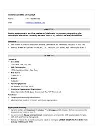 Sample Resume For 2 Years Experienced Java Developer by Sample Resume For Java Developer Careerridecom