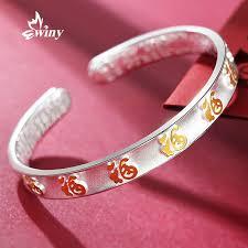bracelet silver price images Buy winy silver bracelet 999 sterling silver bracelet female jpg