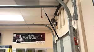 garage door opener lift master highlift garage door with opener liftmaster youtube