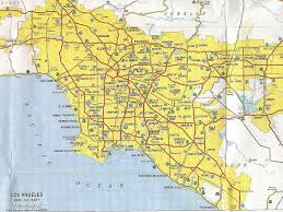 Map Of Venice Beach California Highways Www Cahighways Org Southern California