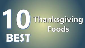 thanksgiving life hacks top 10 best thanksgiving foods youtube