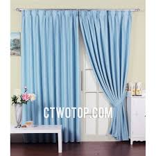 Organic Cotton Curtains Funky Baby Blue Beautiful Cheap Organic Cotton Printed Curtains