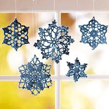 snowflake decorations to make rainforest islands ferry