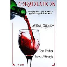 Graduation Wine Glasses Merlot Graduation Wine Bottle Label