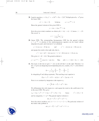 part 4 linear odes advanced engineering mathematics solution manual