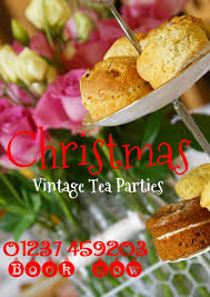 christmas vintage tea parties u2013 mad henry u0027s