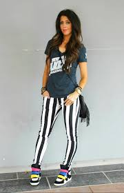 casual dressy dressy casual in black and white stripes the in the
