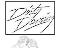dancer coloring page etsy