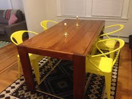 Dining Room Table Styles Building A Farm Table Style Dining Room Table This Is My First