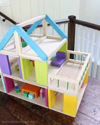 How To Make Doll House Furniture Ana White How To Modular Stackable Dollhouse Diy Projects
