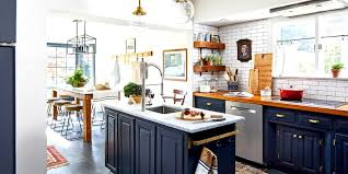 what color appliances with blue cabinets 17 blue kitchen ideas for a refreshingly colorful cooking