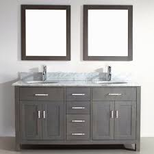 bathroom ideas antique gray bathroom vanity under framed mirror