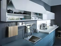 cuisine couleur bleu gris cuisine gris et bleu cheap design retro bistro toulon couleur